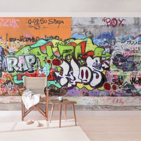 vlies poszter tap ta graffiti wall graffiti wand fot tap ta. Black Bedroom Furniture Sets. Home Design Ideas